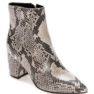 Marc Fisher Snakeskin Jelly Bootie- NEW in box